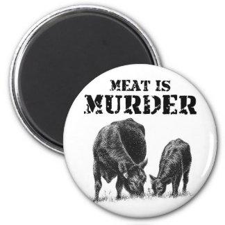 Meat Is Murder Magnet