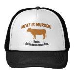 Meat is Murder! Mesh Hat