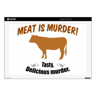 Meat is Murder! Laptop Decals