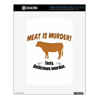 Meat is Murder! Skins For The NOOK
