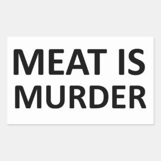 Meat is Murder Stickers
