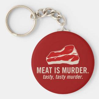 Meat is Murder, Tasty Murder Keychain