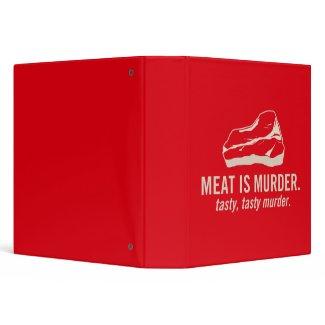 Meat is Murder, Tasty Tasty Murder binder