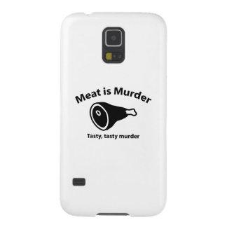 Meat is Murder. Tasty, tasty murder. Galaxy S5 Cases