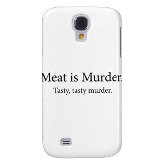 Meat Is Murder Tasty Tasty Murder Samsung Galaxy S4 Cases