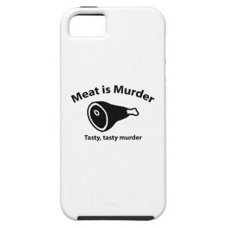 Meat is Murder. Tasty, tasty murder. iPhone 5 Covers