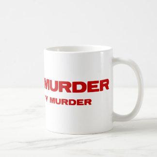 Meat Is Murder. Tasty, Tasty Murder Coffee Mug