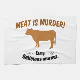 Meat is Murder! Towel