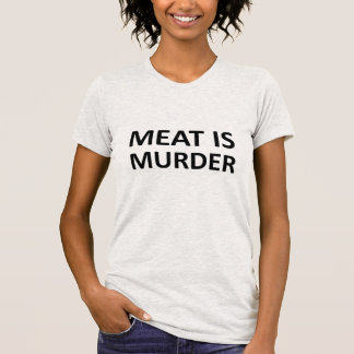 Meat is Murder T Shirts