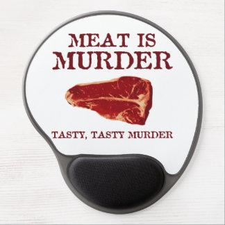Meat is Tasty Murder Gel Mouse Pad