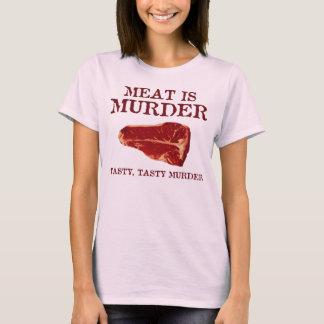 Meat is Tasty Murder T-Shirt