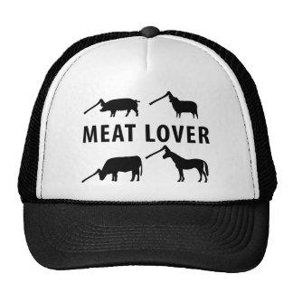 meat lover ax trucker hat