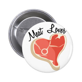 Meat Lover 2 Inch Round Button