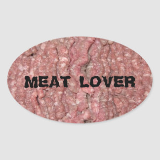 Meat lover stickers