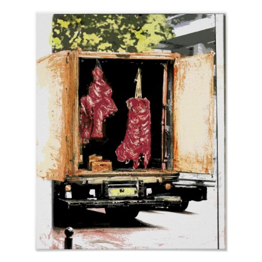 Meat Movers Poster