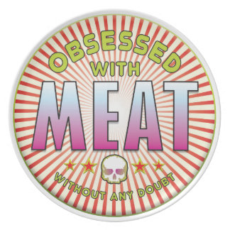 Meat Obsessed R Plate