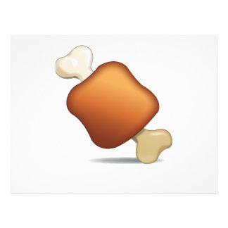 Meat on Bone - Emoji Flyer
