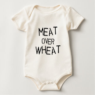 Meat Over Wheat Baby Bodysuit