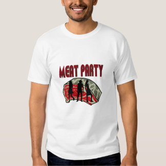 meat party tee shirt