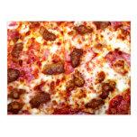 Meat Pizza Postcards