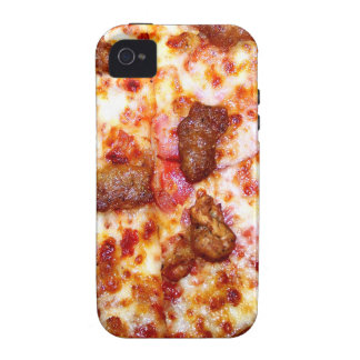 Meat Pizza Vibe iPhone 4 Cases