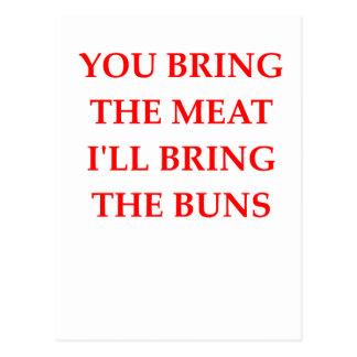 MEAT POSTCARD