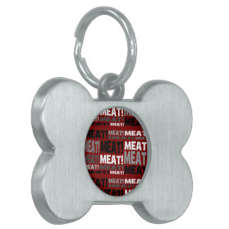 Meat Product Pet Tag