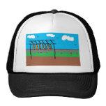 MEAT RACK (2) TRUCKER HATS