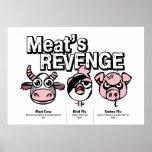 Meat Revenge Posters