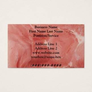 Meat Shop Business Card