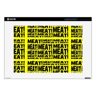 Meat Laptop Decals