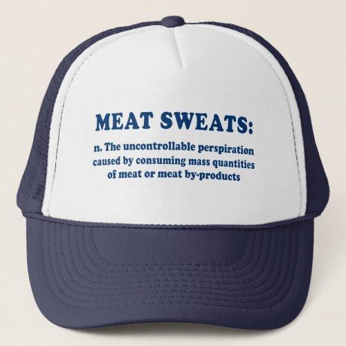 Meat Sweats Redux Blue hat