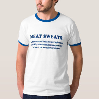 Meat Sweats Redux Blue T-Shirt