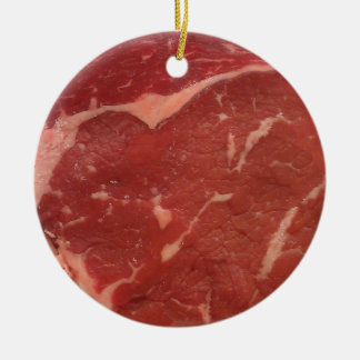Meat Texture Ceramic Ornament