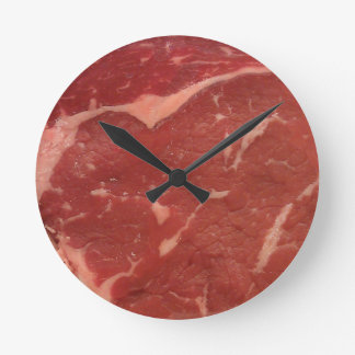 Meat Texture Round Clock