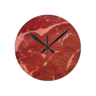 Meat Texture Round Clocks