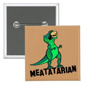Meatatarian 2 Inch Square Button