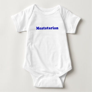 Meatatarian Baby Bodysuit