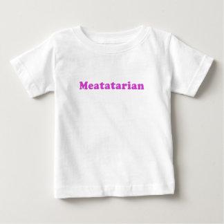 Meatatarian Baby T-Shirt
