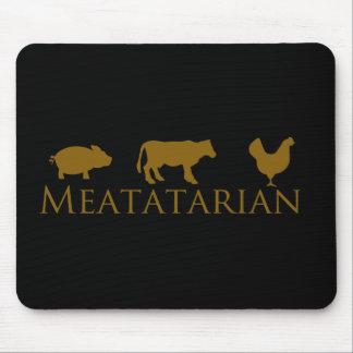 Meatatarian clásico tapetes de ratones