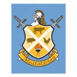 Meatatarian Coat Of Arms Custom Letterhead