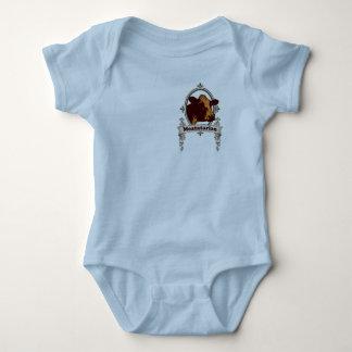 Meatatarian Cow Banner Baby Bodysuit