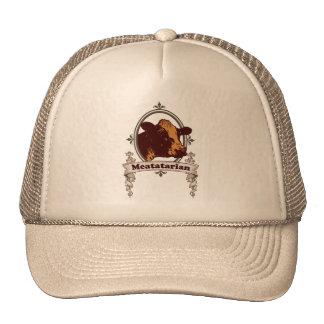 Meatatarian Cow Banner Trucker Hat