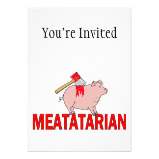 Meatatarian Forever Announcement