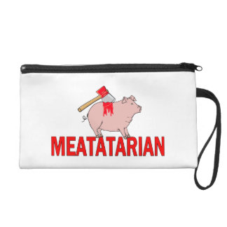 Meatatarian Forever Wristlet
