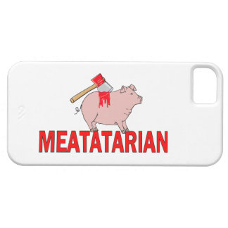 Meatatarian Forever iPhone 5 Cover
