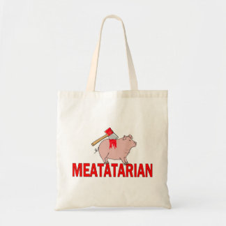 Meatatarian Forever Tote Bag