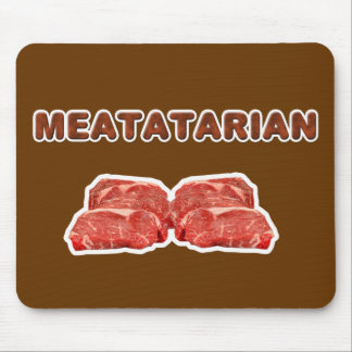 meatatarian mouse pad