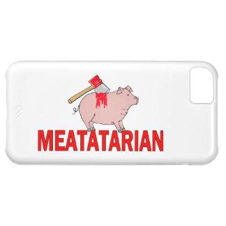 Meatatarian para siempre funda para iPhone 5C