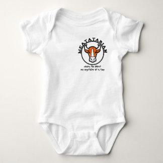 Meatatarian Saving The Planet Baby Bodysuit